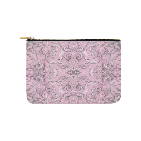Antique Thai Pattern Lilac Clutch