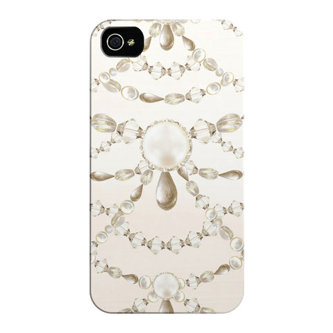 Beaded Pearls iPhone Cases