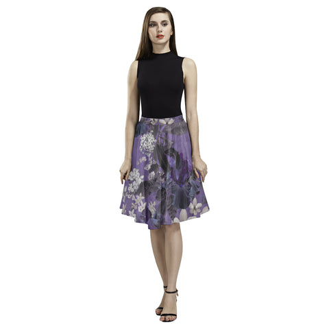 Lalia Lilac Floral Full Skirt