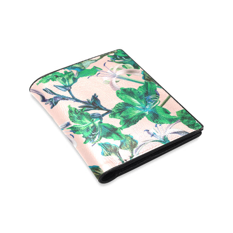 Pink Tropical Bramble Wallet