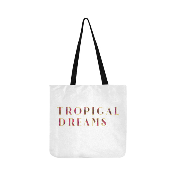 Dark Warm Tropical Dreams Tote Bag