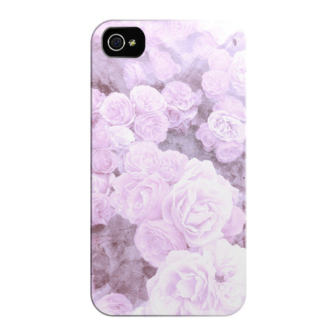 Lavender Watercolor Floral iPhone Cases