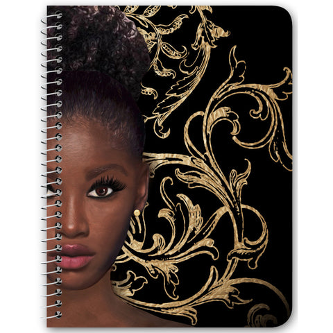 Luna Spiral Notebook
