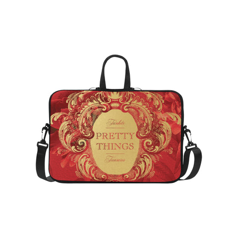 Pretty Things Red Laptop Bag 15.6""