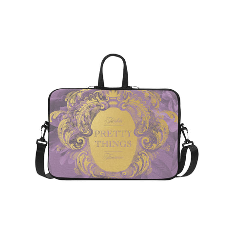 Pretty Things Lilac Laptop Bag 15.6""