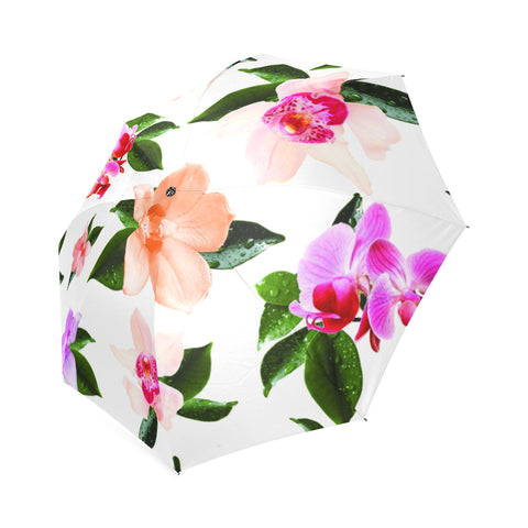 Tossed Tropical Umbrella