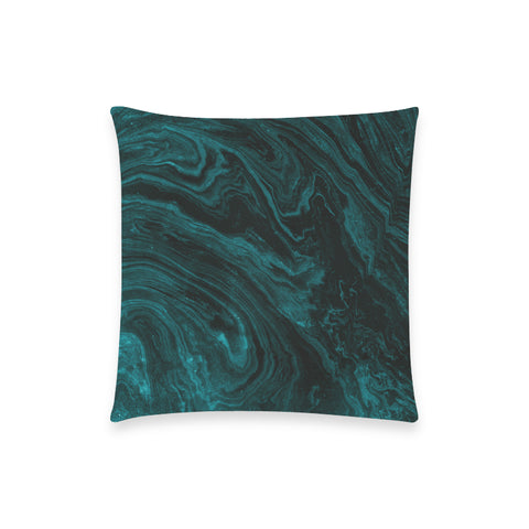 Emerald Green Marble Pillow Case