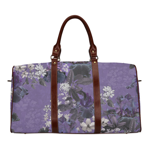 Lalia Lilac Floral Travel Bags