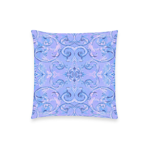 Antique Thai Pattern Blue Pillow Case