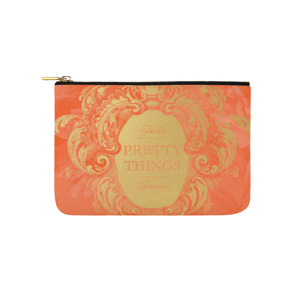 Pretty Things Papaya Clutch