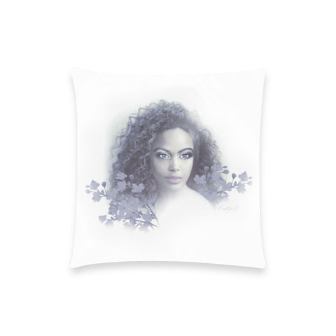 Aria Blue Pillow Case