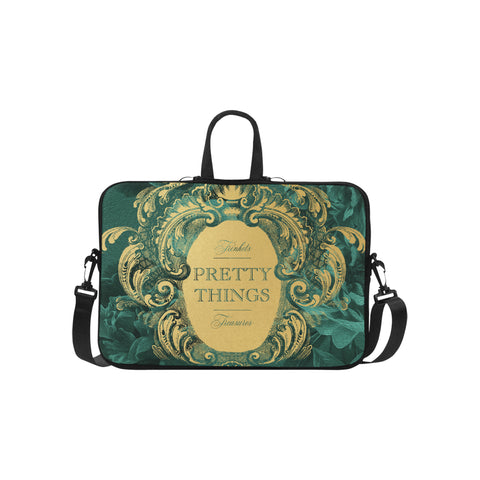 Pretty Things Emerald Laptop Bag 15.6""