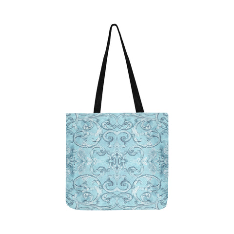 Antique Thai Pattern Pale Blue