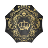 Gold Crown - Black Umbrella