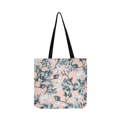 Blue Pink Bramble Tote Bag