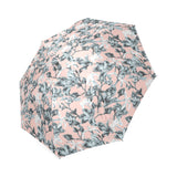 Tropical Pink Blue Umbrella