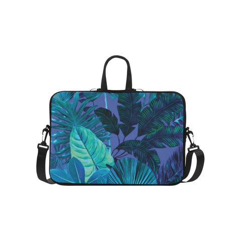 Dark Cool Tropical Laptop Bag 15.6""