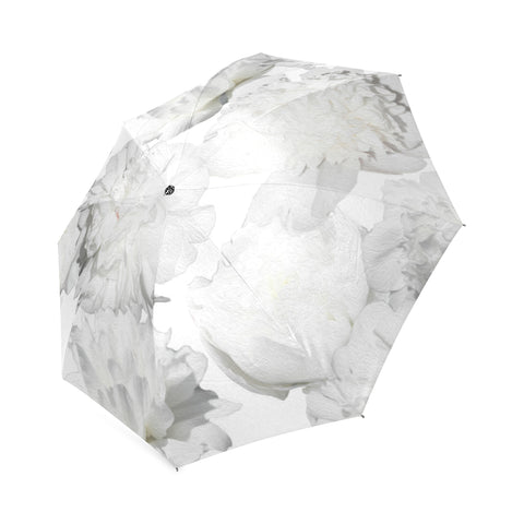 White Peonies Umbrella