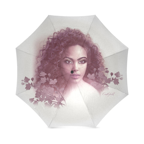 Aria Burgundy Umbrella
