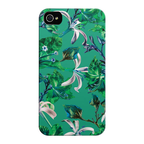 Green Bramble iPhone Cases