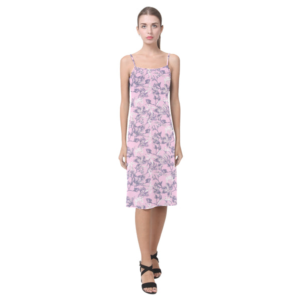 Lilac Bramble Slip Dress