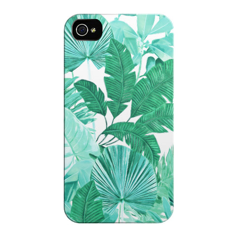 Green Tropical iPhone Cases