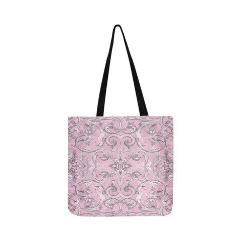 Antique Thai Pattern Lilac Tote Bag