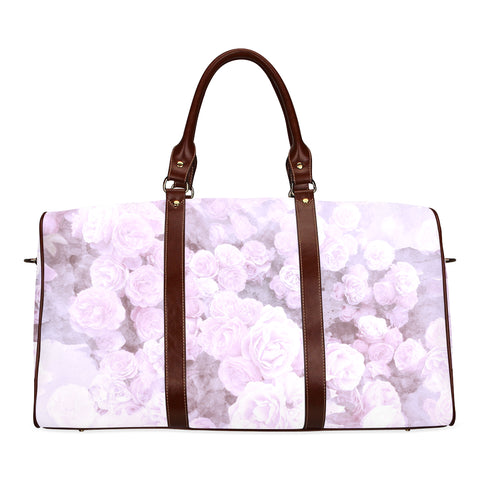 Lilac Floral Watercolor Travel Bags