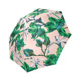 Tropical Pink Green Umbrella