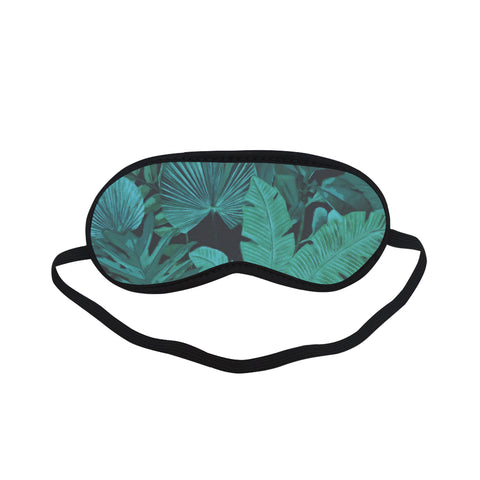 Dark Green Tropical Sleeping Mask