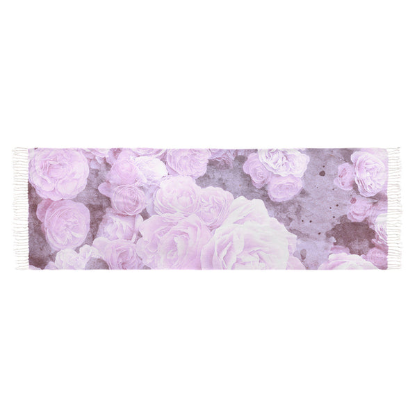 Lilac Watercolor Floral Scarves
