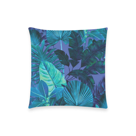 Dark Cool Tropical Pillow Case