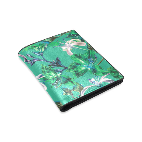 Green Tropical Bramble Wallet