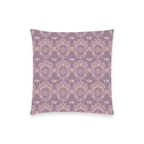 Lavender Pink Castlefield Pattern Pillow Case