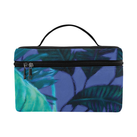 Dark Cool Tropical Cosmetics Bag