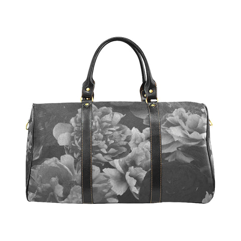 Black Floral Travel Bags