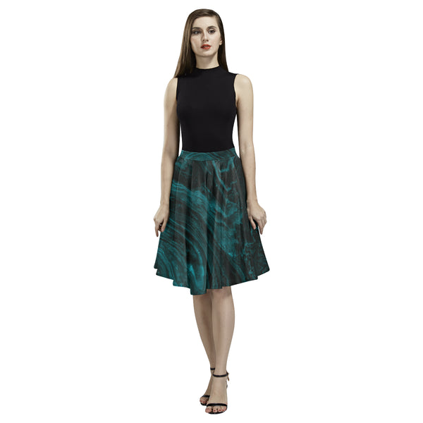 Emerald Green Marble Full Skirt