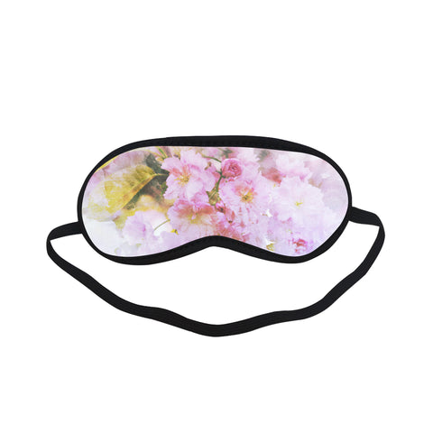Watercolor Floral Sleeping Mask