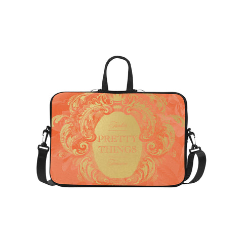 Pretty Things Papaya Laptop Bag 15.6""