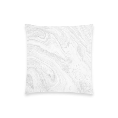 Gray Marble Pillow Case