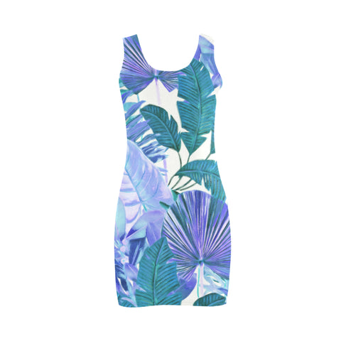 Cool Tropical Mini Bodycon Dress