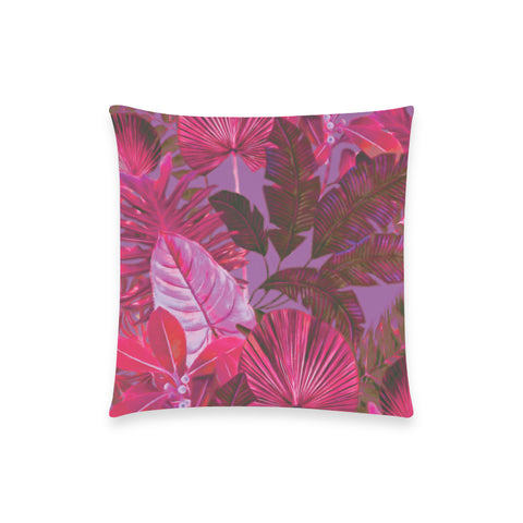Dark Warm Tropical Pillow Case