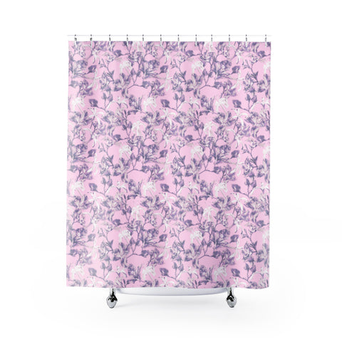 Lilac Bramble Shower Curtain