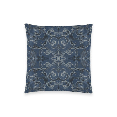 Antique Thai Pattern Dark Blue Pillow Case