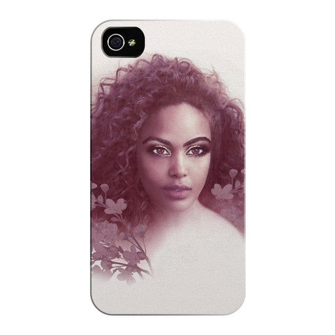 Aria Burgundy iPhone Cases