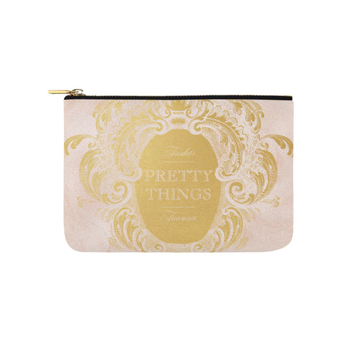 Pretty Things Pink Marble Clutch