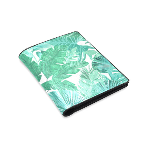 Green Tropical Wallet