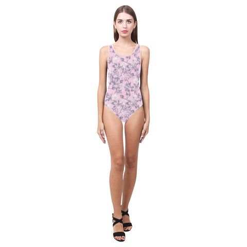 Lilac Bramble One Piece Swimsuit