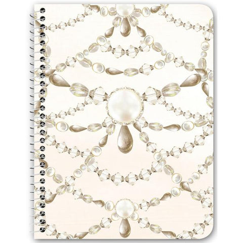 Beaded Pearls Notebooks & Journals - 3 Design Options