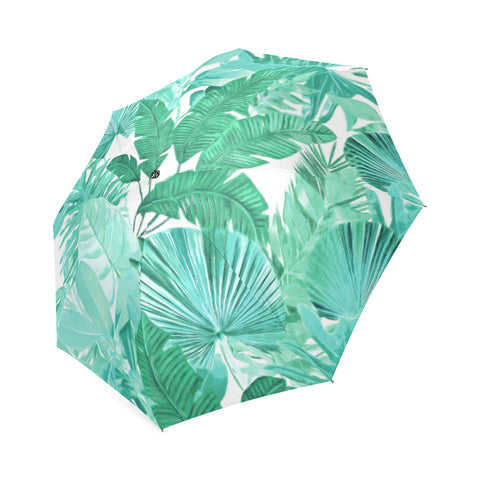 Green Tropical Umbrella